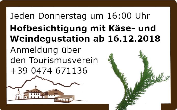 Moserhof Hofbesichtigung
